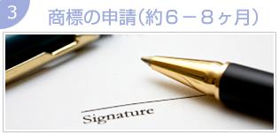 商標の申請