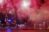 香港最大の花火イベント!明日開催!