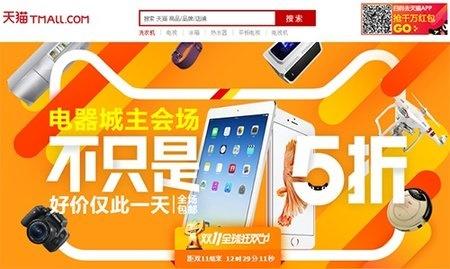 中国最大のショッピングサイト、年に1度の大セール開催中!