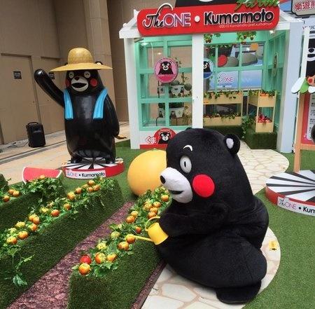 明日、くまモンが香港イオンに!人気は続く!?