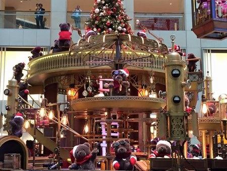 ランドマークのクリスマス