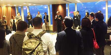 日本ウェルス銀行(NWB)セミナーでの集まり