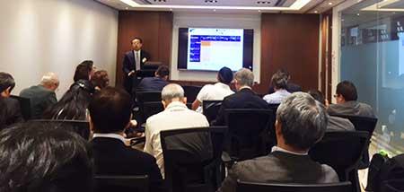 日本ウェルス銀行(NWB)セミナー風景