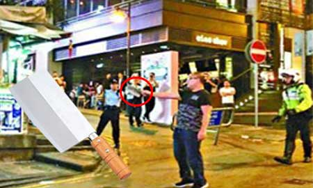 蘭桂坊で無差別殺人未遂。周囲は大パニック