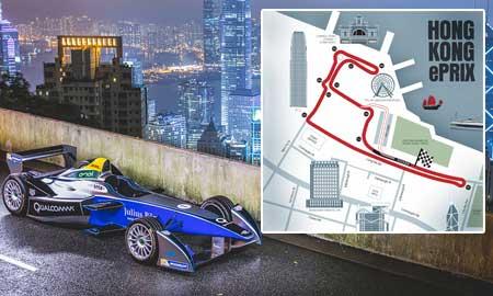 香港でフォーミュラEレースが開催!チケット残りわずか!
