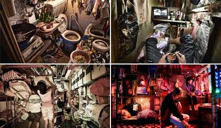 香港の貧困層写真展「TRAPPED」10月3日から開催