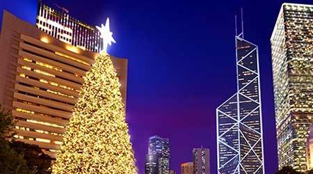 香港は明日からクリスマス4連休