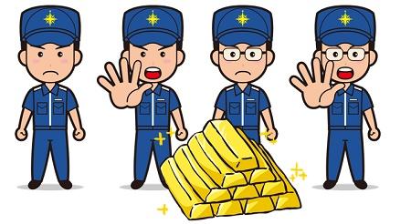 香港・日本間で金密輸 日本人逮捕者多数