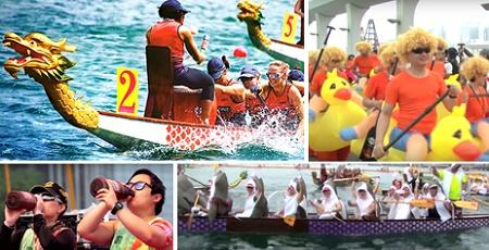 香港ドラゴンボート・カーニバルが6月2日に開催