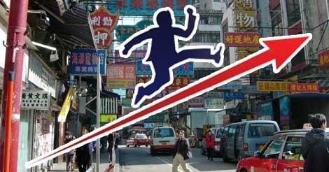 旅行客増、家賃低下で香港の小売業に勢い