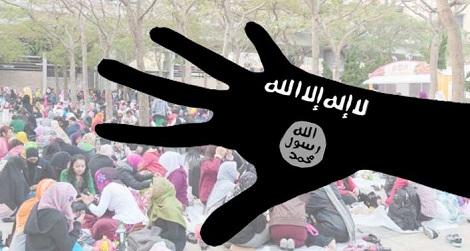 香港で働くヘルパー43名がイスラム過激派をサポート