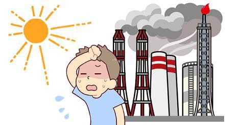 気温が37度超え 大気汚染レベルも最高値に
