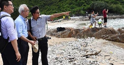 香港のビーチ閉鎖が13ヵ所に拡大