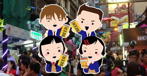 偽造IDで飲酒する香港中学生 平均飲酒年齢10.9歳!?