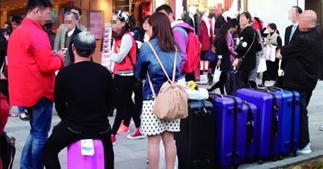 国慶節の中国人旅行者は、なんと7.1億人!
