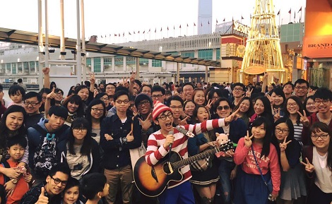 日本人ストリートミュージシャンに逮捕予告?