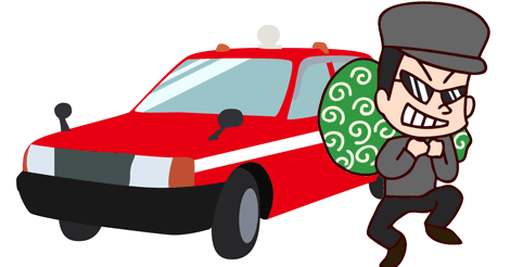 香港タクシー 乗客の100万円相当の商品を奪い逃走