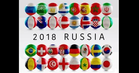 サッカーワールドカップ2018