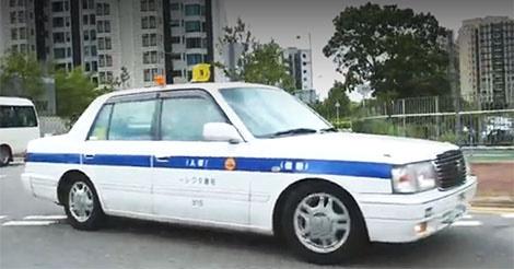 日本の個人タクシーが香港を走行していることが話題