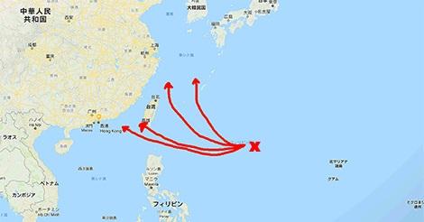今週末香港に再び大型台風接近の可能性