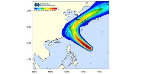大型台風25号による飛行機の欠航や遅延の案内