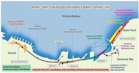 「中環-湾仔バイパス」オープン間近も水漏れに懸念
