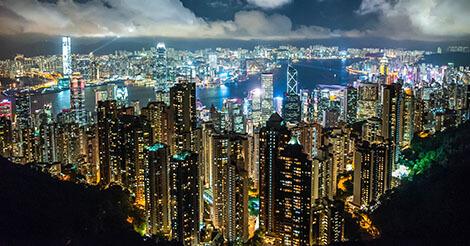 2018年の香港訪問者数は6514万人