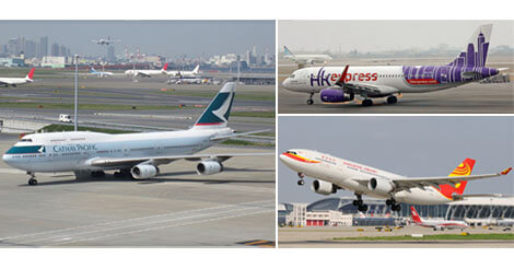 キャセイが香港エクスプレスと香港航空の購入を検討