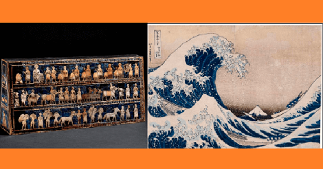 「大英博物館蔵品展」が香港文化博物館で開催。北斎の浮世絵も。