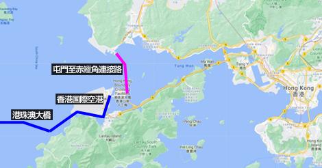 屯門と国際空港を結ぶ海底トンネルが12月末オープン