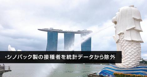 シンガポールがシノバック製ワクチンを認めず