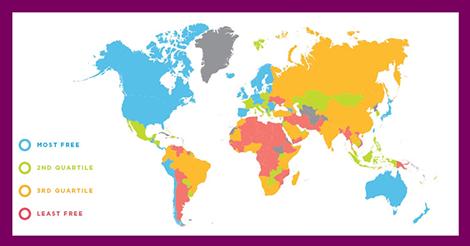 世界経済自由度年次レポート2021で香港が1位